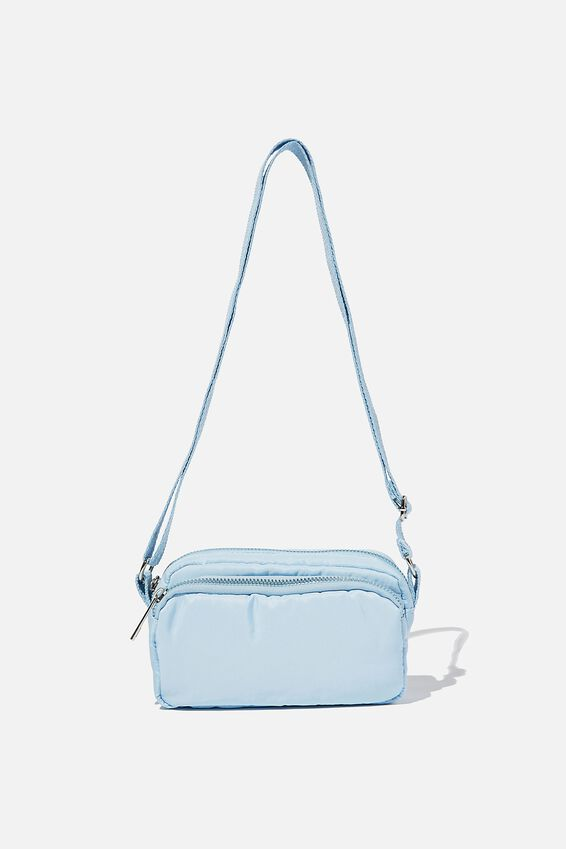 Brenna Small Cross Body Bag, BLUE