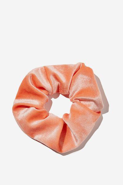 Plush Scrunchie, PEACHY ROSE
