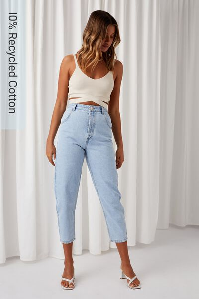 Balloon Denim Jean, CLEARWATER BLUE