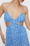 Ariel Tie Back Maxi Dress, ARIELLA SAPPHIRE
