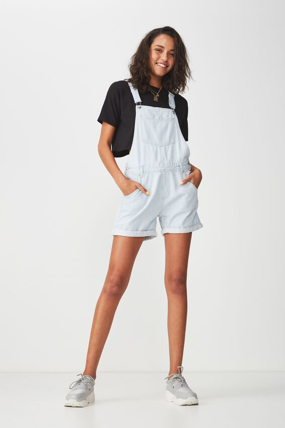 The Denim Dungaree, SUPER BLEACH