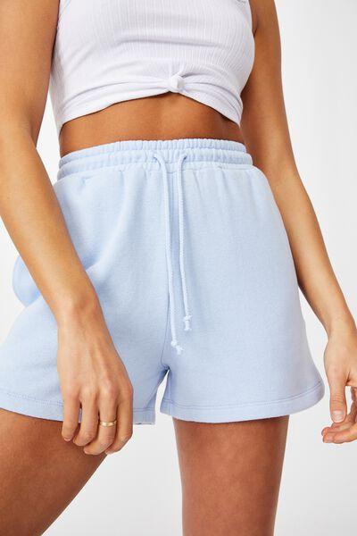 Hayley Sweat Short, BLUE PETAL