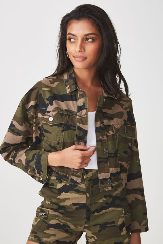 Jaxon Military Jacket, CAMO