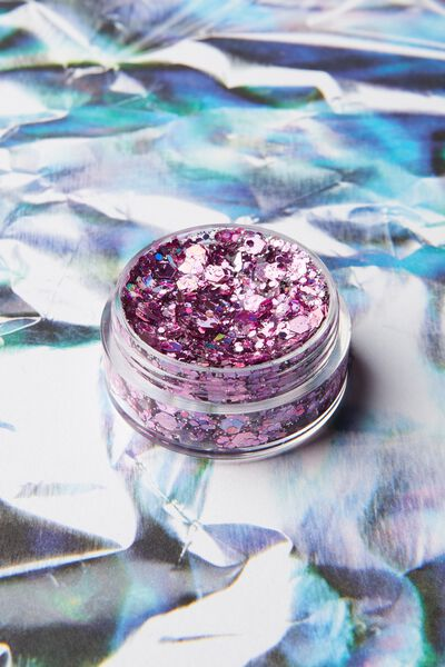 Glitter Pots, PAINT THE TOWN PINK