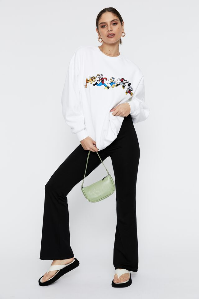Mickey and Friends Oversized Jumper, WHITE/LCN DIS MICKEY AND FRIENDS