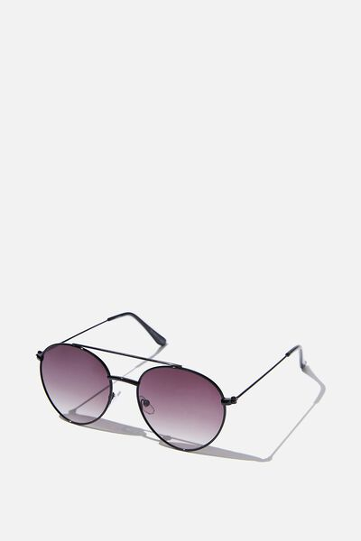Phoenix Topbar Sunglasses, BLACK/SMK