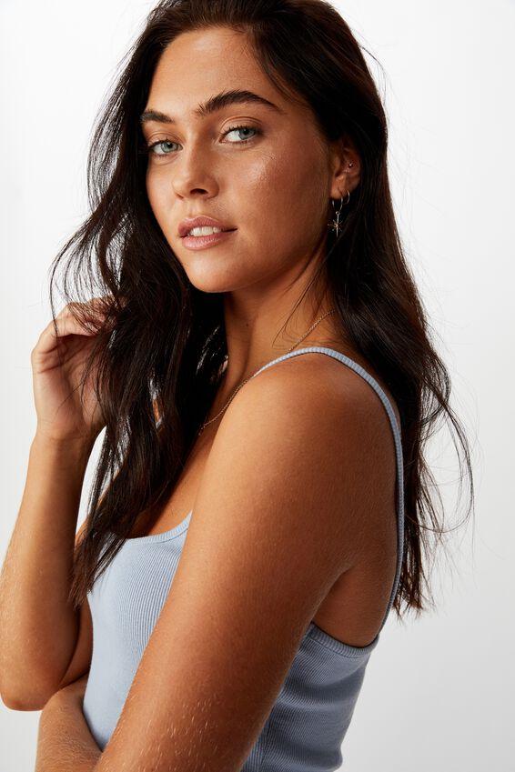 Tatiana Rib Cami, BLUE RIDER