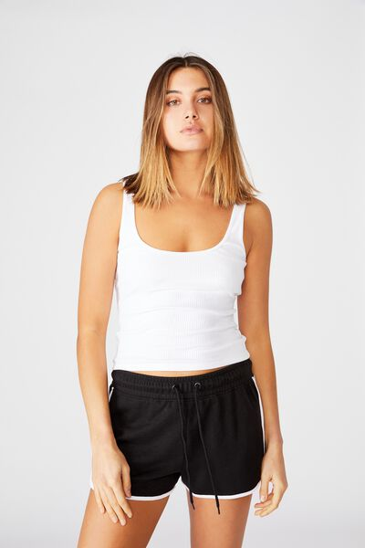 Milly Relaxed Short, BLACK