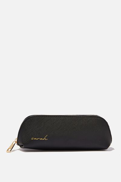 Personalised Small Case, BLACK TEXTURE