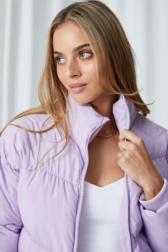 The Classic Feel-Good Puffer Jacket, FAIRY LILAC