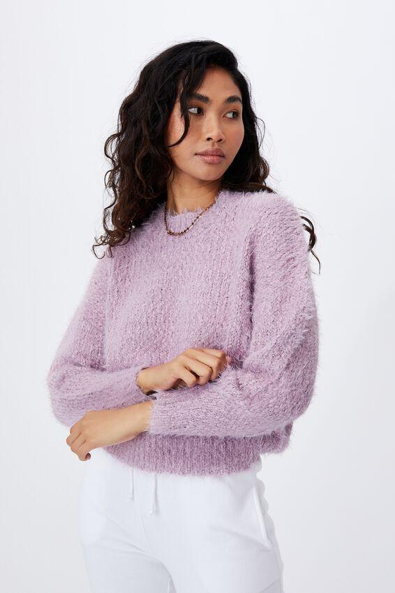 Mia Super Soft Knit, FROSTY MAUVE