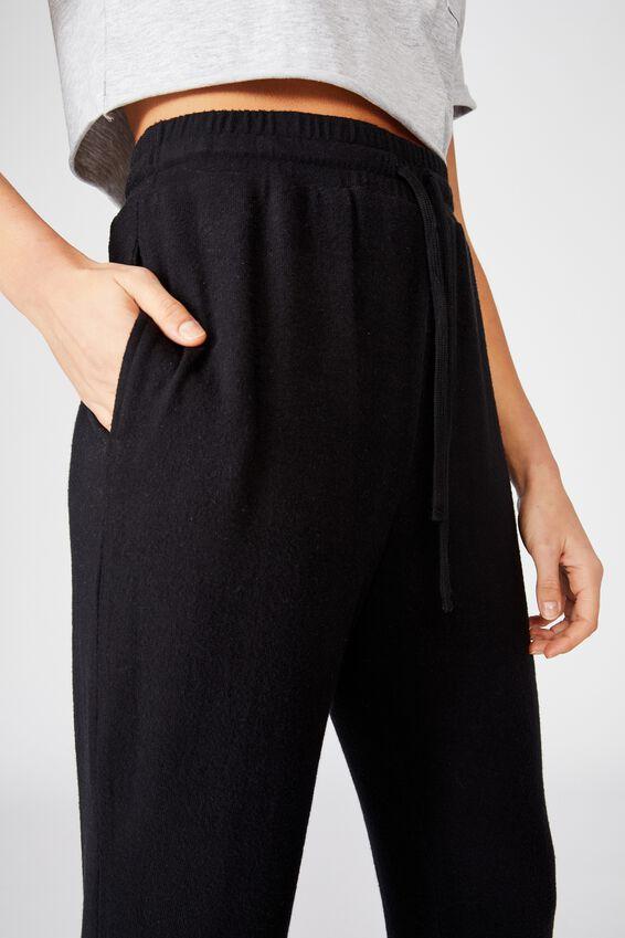 Liberty Lounge Sweat Pant, BLACK