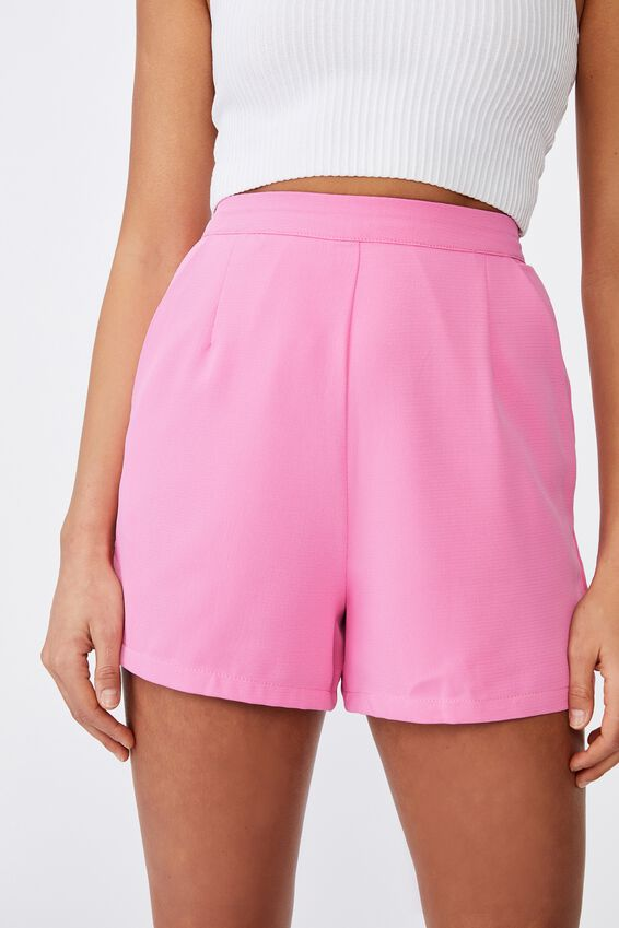 Dakota Tailored Short, PUNCH PINK