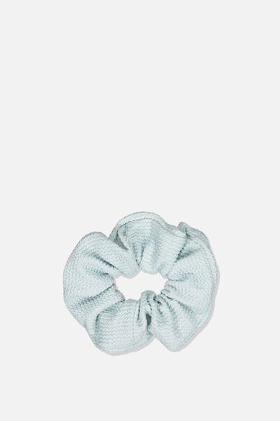 Chunky Knit Scrunchie, SOFT MINT