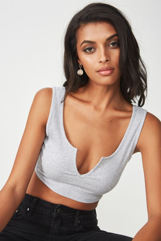 Ariel V Crop, GREY MARLE
