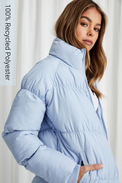 Jane Puffer Jacket, COOL BLUE