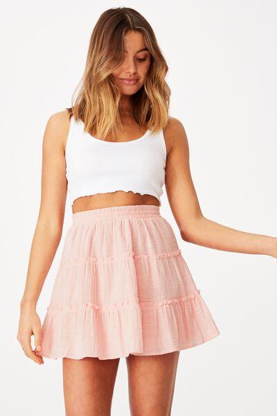 Annie Tiered Skirt, FAIRYTALE PINK