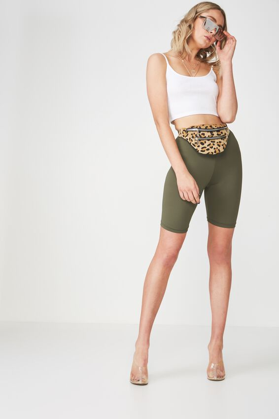 Bike Shorts, KHAKI