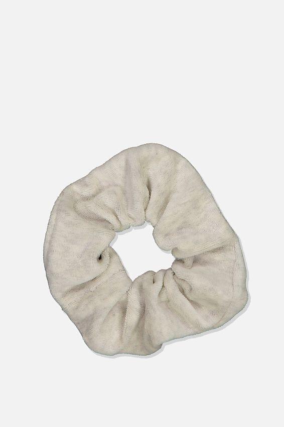 Brushed Scrunchie, GREY MARLE