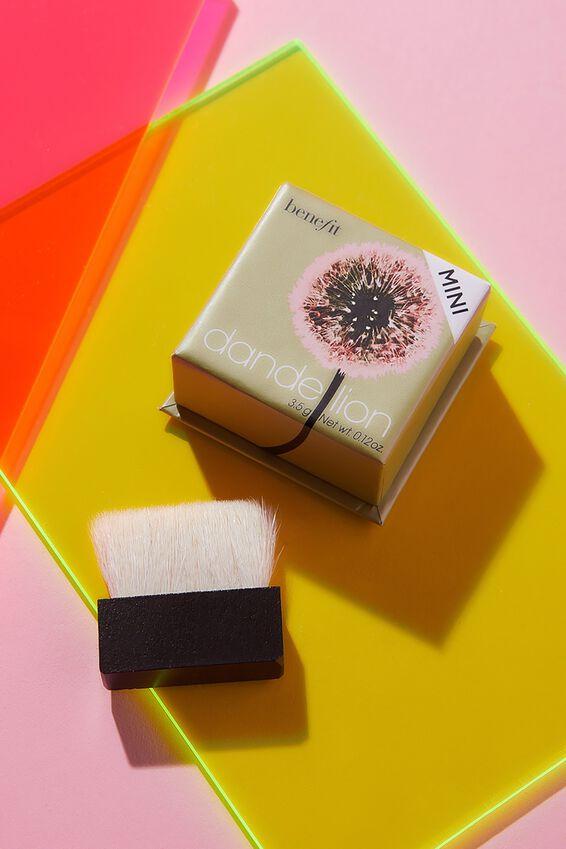Benefit Dandelion Brightening Finishing Powder, BABY PINK