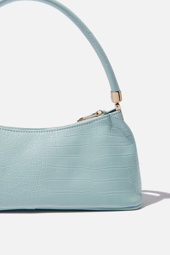 Gia Luxe Shoulder Bag, MINTY GLOW