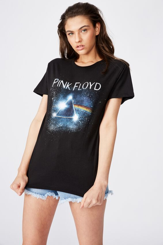 Pink Floyd Tee, BLACK/PINK FLOYD