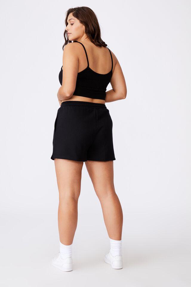 Hayley Sweat Short, BLACK