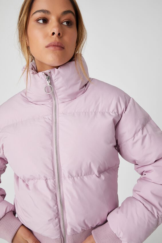 The Cropped Feel-Good Puffer Jacket, PALE JASMINE
