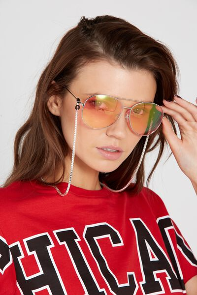 Sunglasses Chain, SILVER