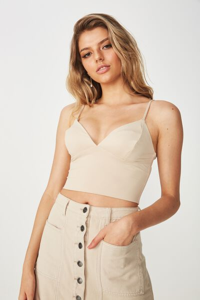 Party Bralette Top, FRAPPE