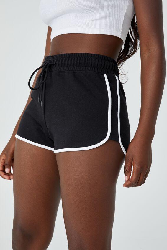 The Good Gym Short, BLACK