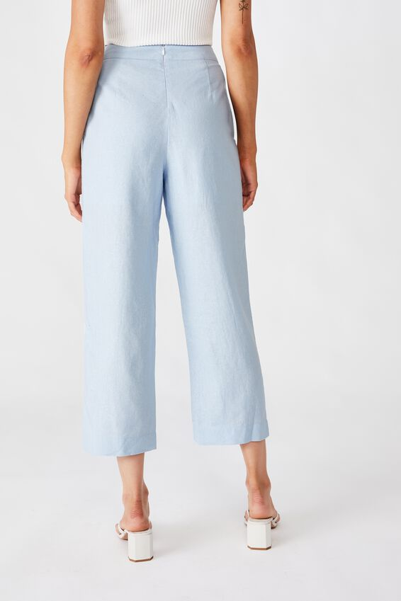 Parker Wide Leg Pant, PRINCESS BLUE