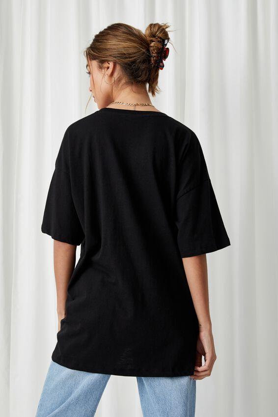 Oversized TLC T Shirt, BLACK/LCN MT TLC GROUP