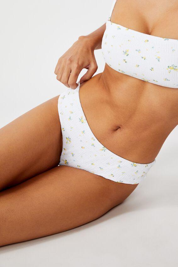 Noosa Seamless Bikini  Bottom, TINA DITSY CRINKLE