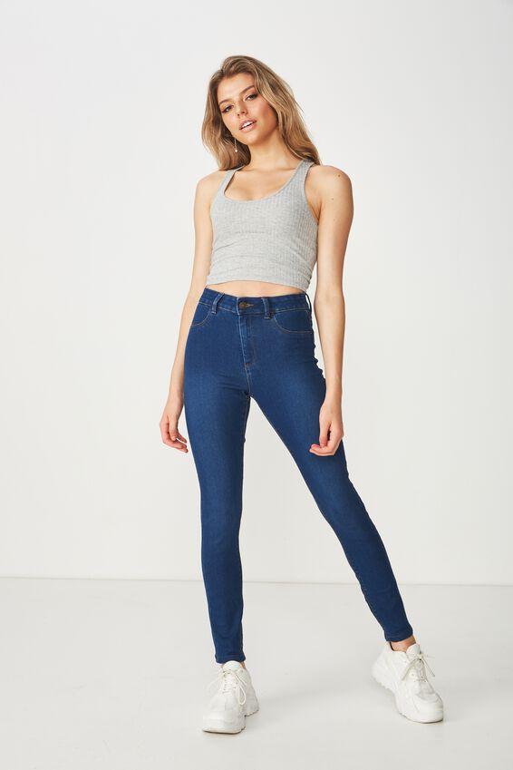 Super Skinny Jean, MOON BLUE