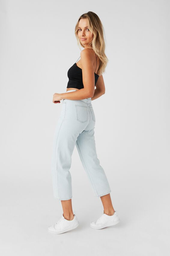 Wide Leg Jean, ARCTIC BLUE