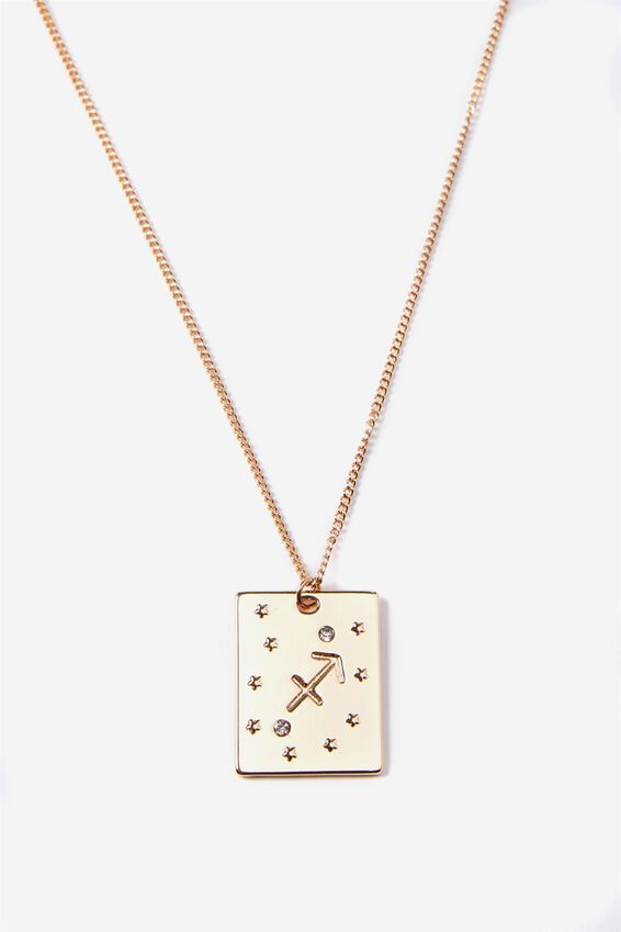 Sagittarius Star Sign Necklace | Tuggl