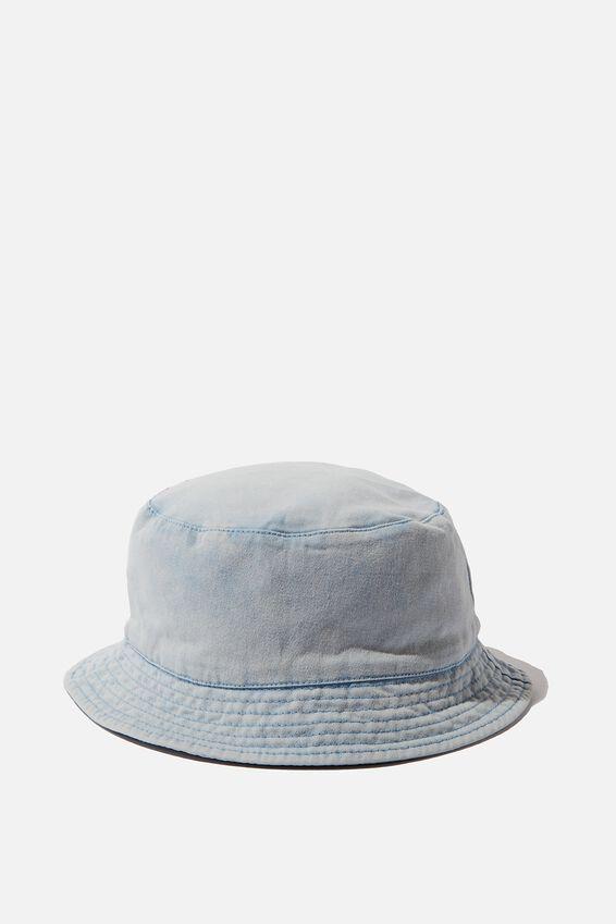Bucket Hat, WASHED BLUE