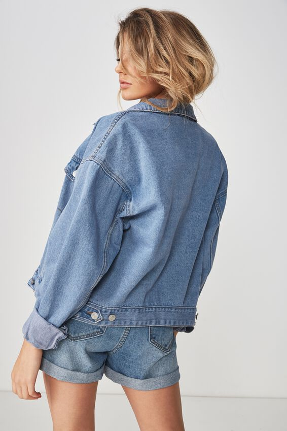 80S Denim Jacket, ORIGINAL BLUE