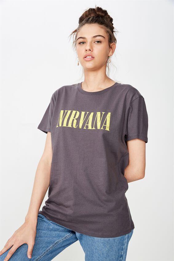 Nirvana Tee, GRANITE/NIRVANA