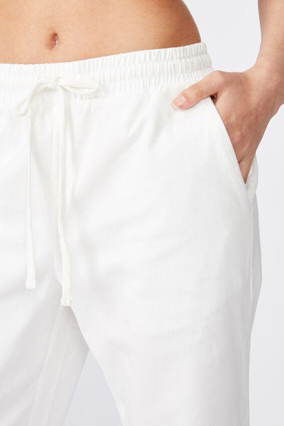 Alexa Jogger Pant, WHITE