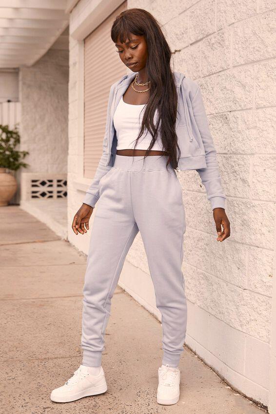 Erica Slim Fit Track Pant, LEISURE BLUE