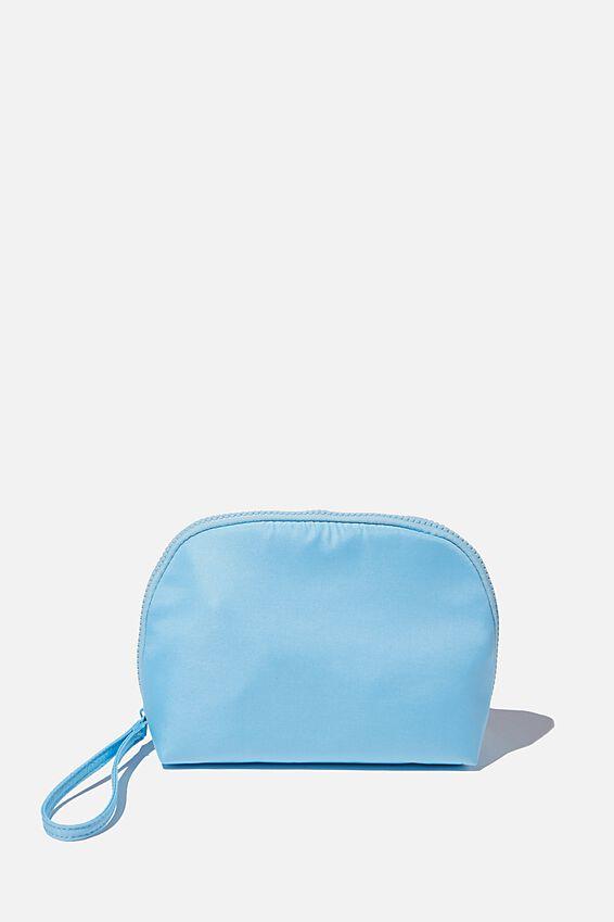 Nylon Make Up Bag, BLUE