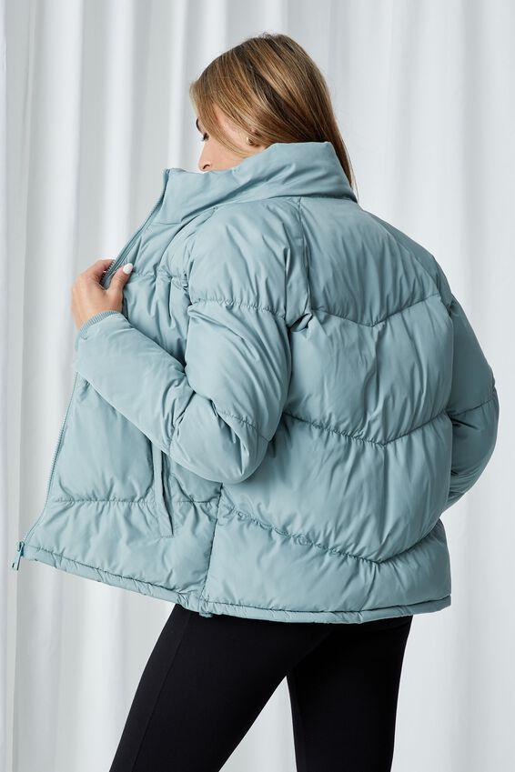 The Classic Feel-Good Puffer Jacket, SEA SPRAY