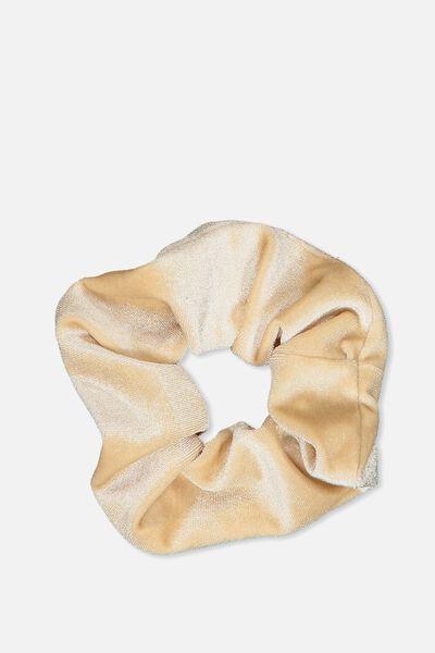 Scrunchie, PLUSH OATMEAL