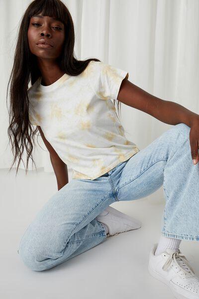 Classic T Shirt, SPLATTER TIE DYE (BTTRMLK/WHT)