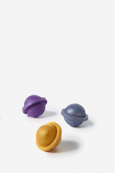 Mini Planet Bath Fizzer Gift Pack, SHIMMER SET