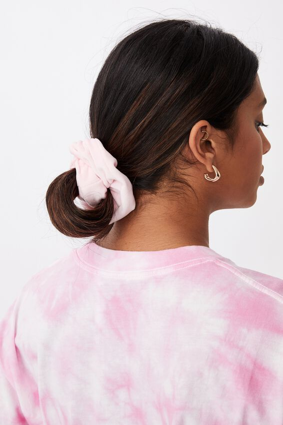 Brushed Scrunchie, BABY PINK