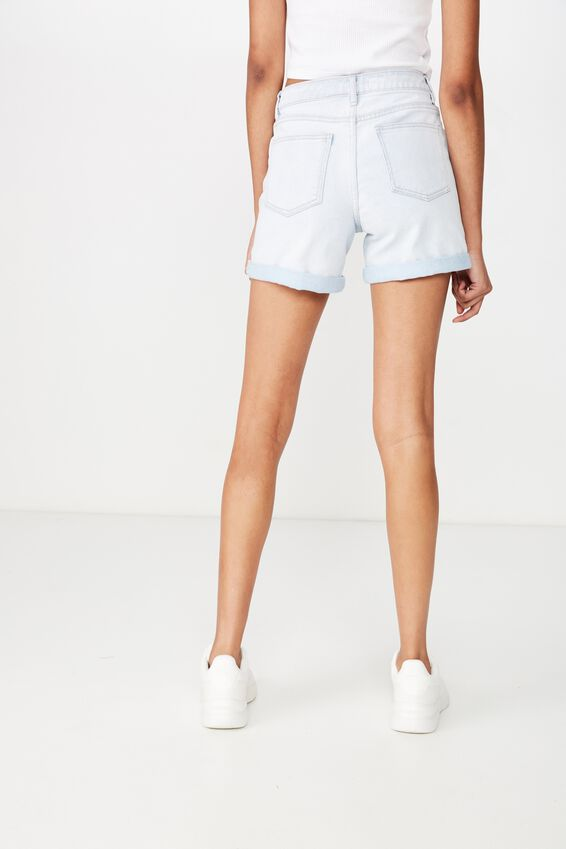 The Monaco Mid Thigh Short, CLOUDY BLEACH BLUE