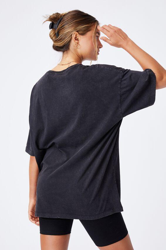 Oversized Mickeys Mates T Shirt, VINTAGE WASH BLACK/LCN DIS MICKEYS MATES